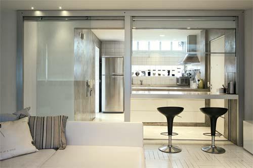 Cozinha Integrada All About That Glass