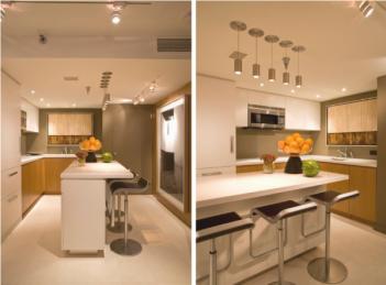 decoracao-moderna-apartamento-lindo-cozinha-ilha-silestone-branco-600x444