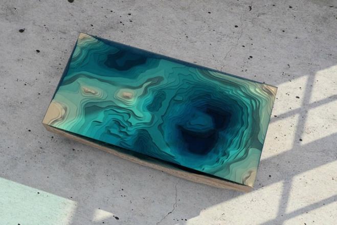 ondas de vidro