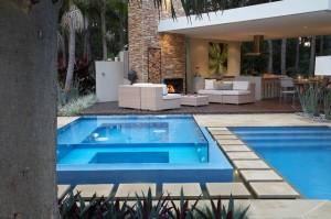 piscinas de vidro