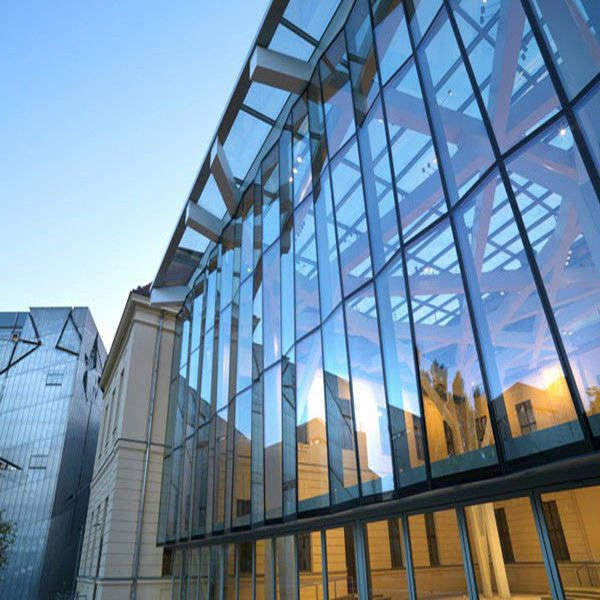 Low-E-Insulated-Curtain-Wall-Glass