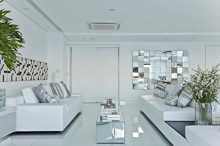 Resultado de imagem para decoração de espelho na parede